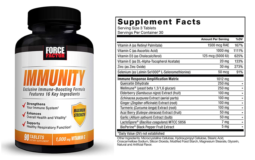 Force Factor Immunity Support